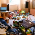 clutter stress depression