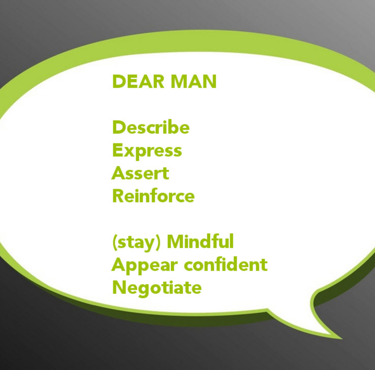 Interpersonal Effectiveness DEAR MAN